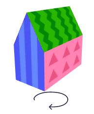 собранный домик
